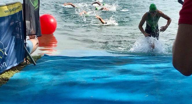 Campionat d'Espanya de Triatló i Aquatló Sprint a Banyoles